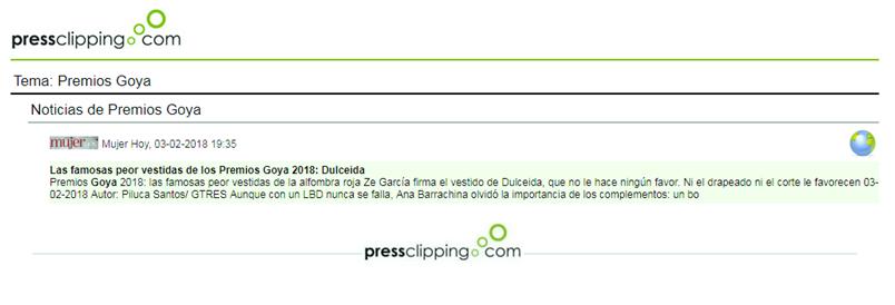 Extracto resumen clipping Premios Goya (pressclipping.com)
